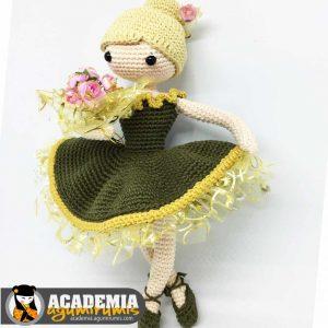 Bailarina Amigurumi Curso 11