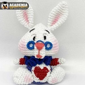 Conejo de Alicia en el País de las Maravillas Amigurumi Curso 17